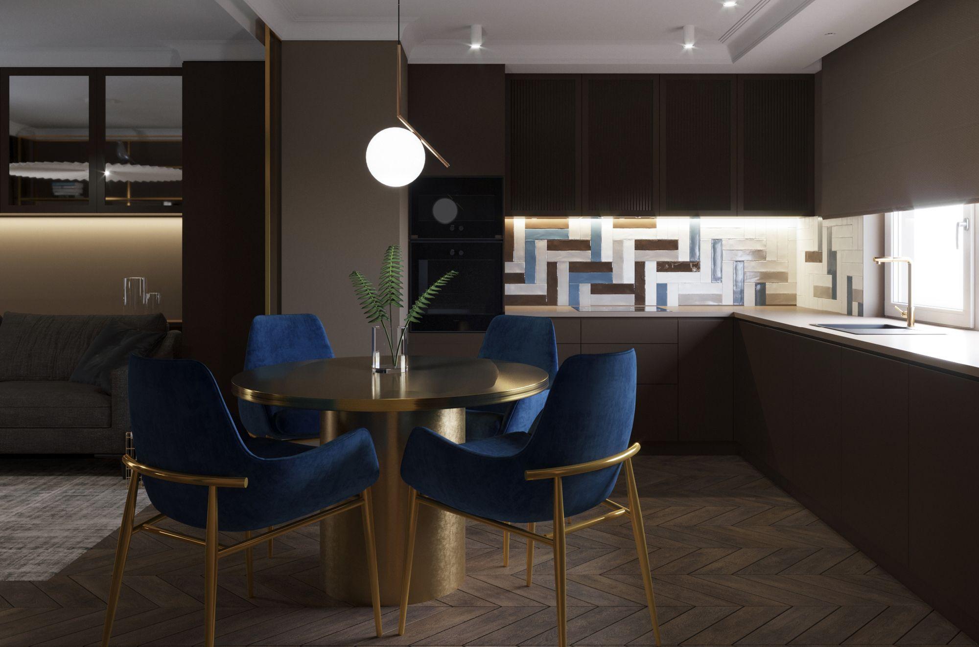 Mieszkanie 80m2 – Wizualizacja